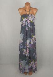 L Дълга шифонова рокля