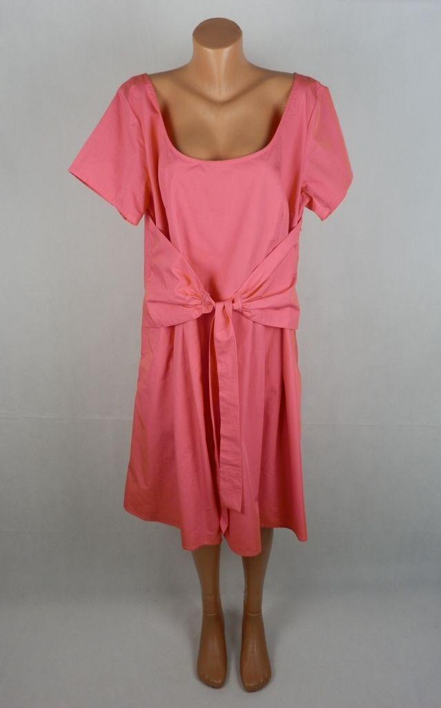 81fa16673c2 XXL Коралова памучна индийска рокля с интересна кройка - LadyPlus.eu